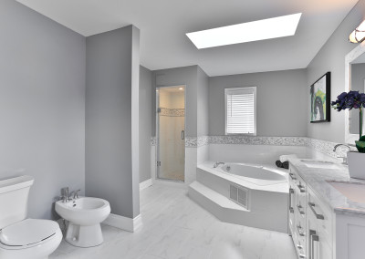 use - master bathroom