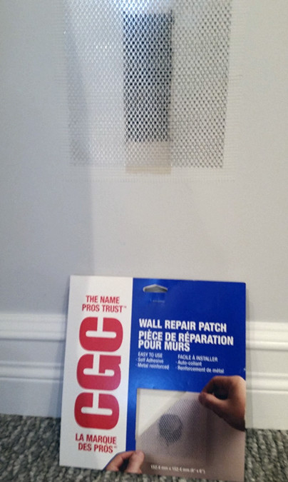 How To: Repair A Small Hole in Your Drywall